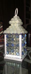 Glass Beaded Lantern