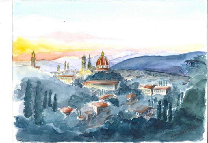Florence at dusk - STUDIO CHIARA