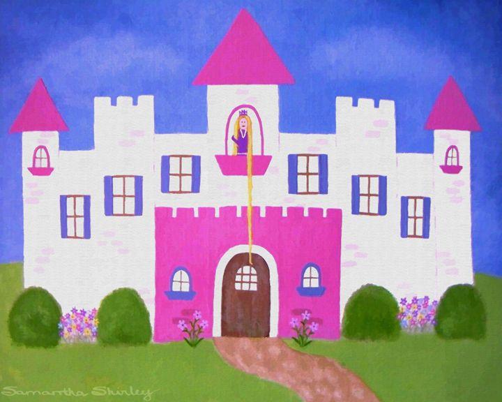 Rapunzel's Castle - TWO LiTTLE WiTCHES