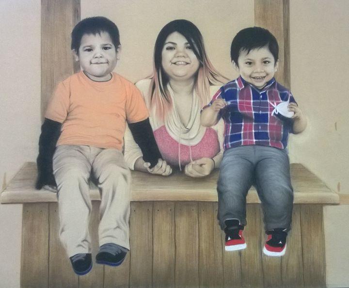 """""""Los nietos"""" - ISABEL SARINANA"""