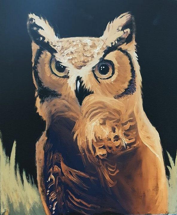 Inverted Owl - Metanoia's Art