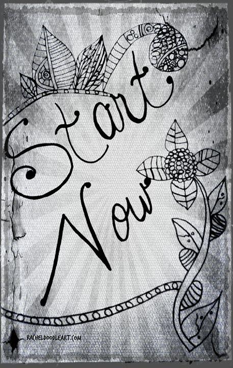 Start Now - Rachel Maynard