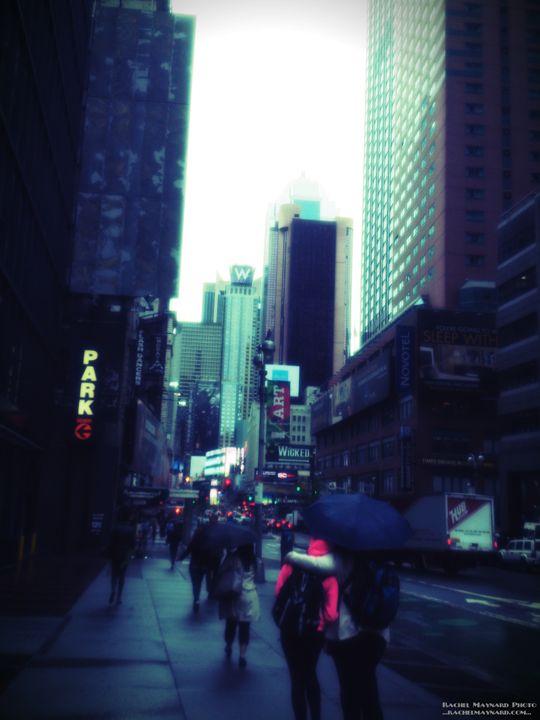 Rainy Day New York City - Rachel Maynard