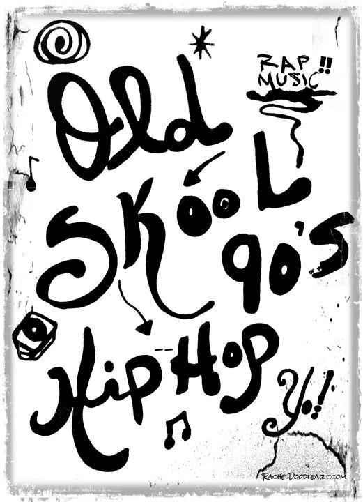 Old-Skook 90s Hip-Hop - Rachel Maynard - Drawings