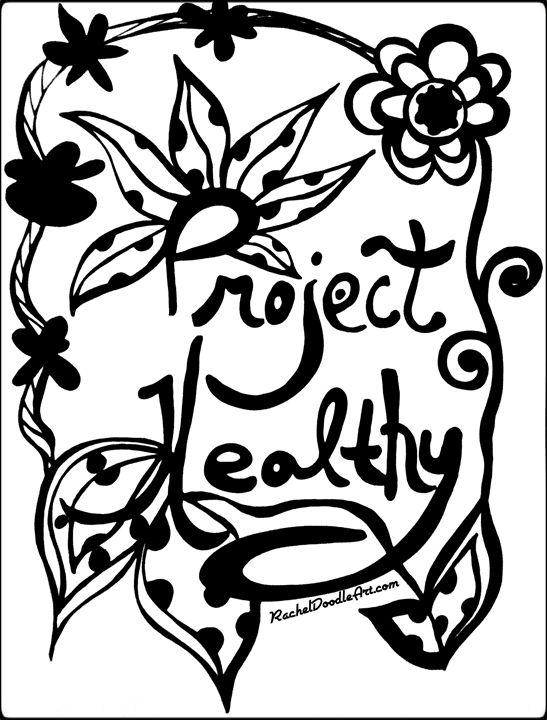 Project Healthy Rachel Maynard Drawings Illustration Humor