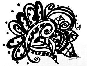 Happy Swirl Doodle