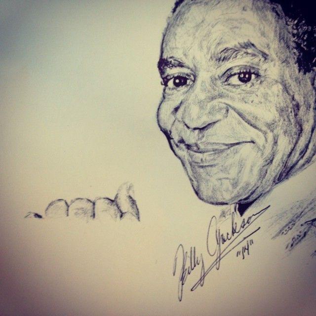 Bill Cosby Portrait - Billy Jackson