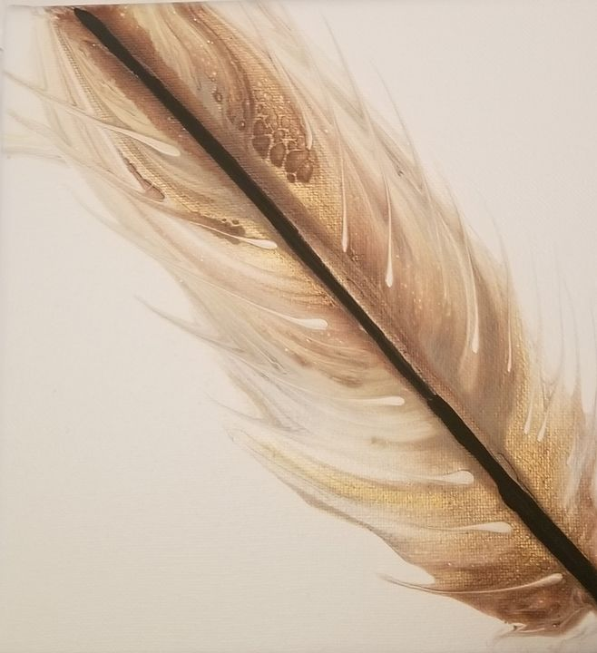 Feather in the wind - Candice's creations