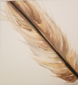 Feather in the wind