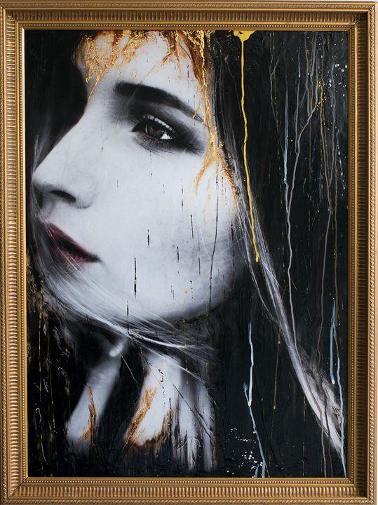 """Thoughts & Dreams"" (85x63x4,5cm) - Rouzbeh Tahmassian"