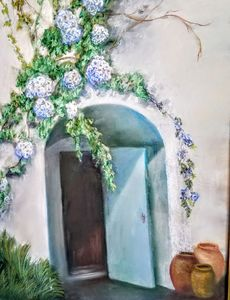 TUSCAN DOORWAY - CATHY BROWN