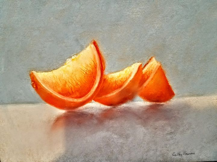 ORANGE SLICES - CATHY BROWN