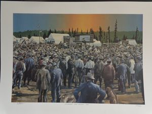 Anchorage Land Auction,1915