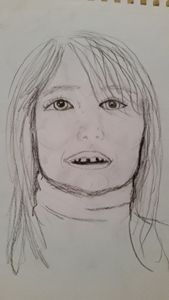 5 minute sketch of Lana