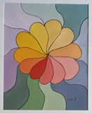 Signed, original abstract painting