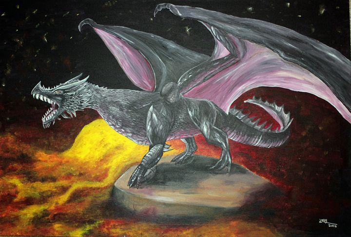 LavaDragon - RyanBroderickPaintings