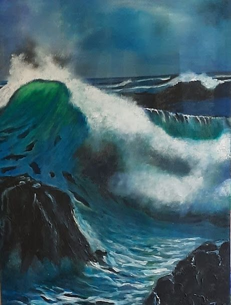The wave - Fourie Collection - SA Colour Creations