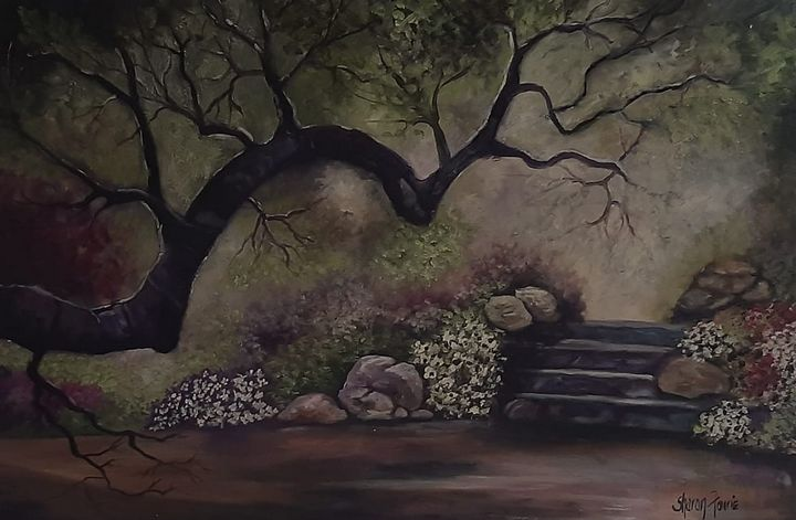 Under the tree - Fourie Collection - SA Colour Creations