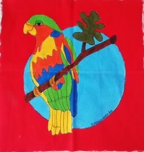 Happy Parrot (RED)