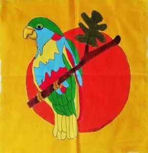 Happy Parrot (YELLOW)