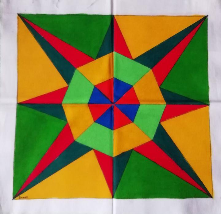 Hexi se ster - SA Colour Creations