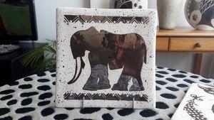 Ceramic Hand-painted Tiles - Africa