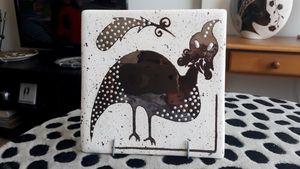 Ceramic Hand-painted TIles - Guinea