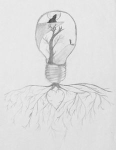 Life in a bulb till underground