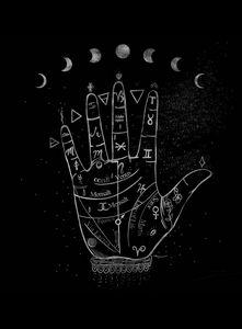 Moon Palmistry