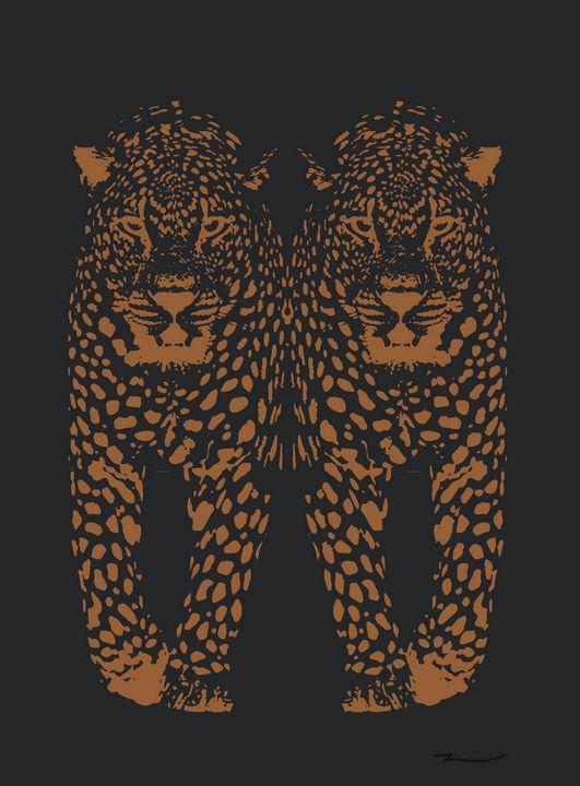 Midnight Leopard - Kristen Baker