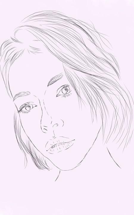 Line Woman - Art and stuff