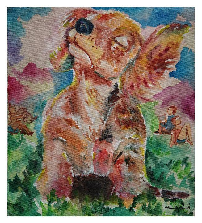 Dog At A Park - Aarshna