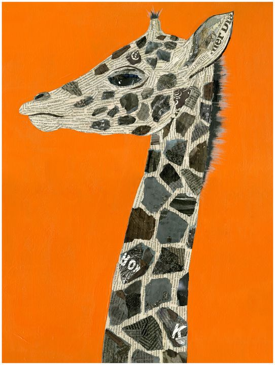 Giraffe - Rose Colored Compass