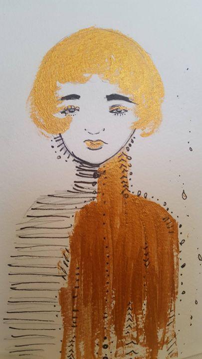Girl in Gold - Lau