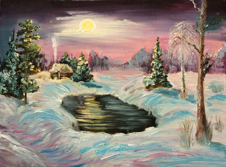 winter night - LeoVart