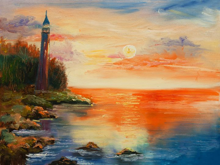 old lighthouse - LeoVart