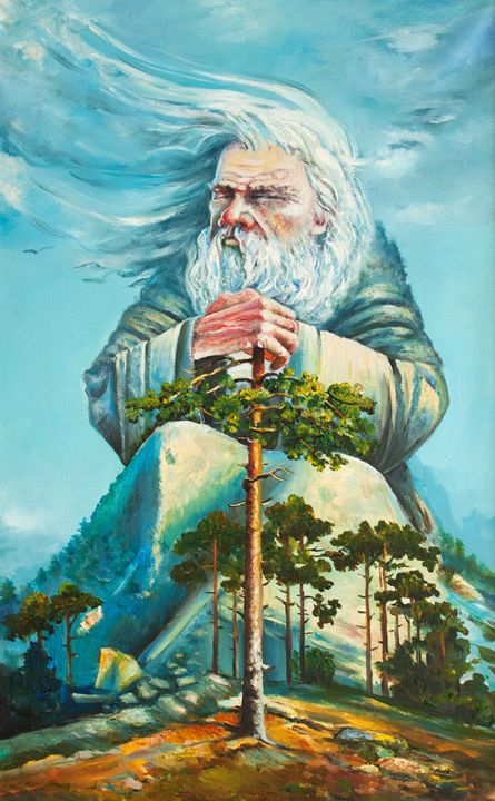 god of forest - LeoVart