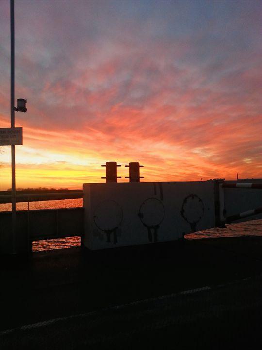 Sunset in The Netherlands - Breathless