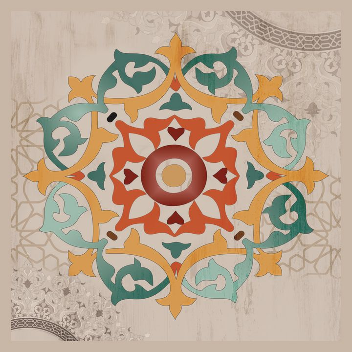 Islamic pattern artwork - amneh.basem