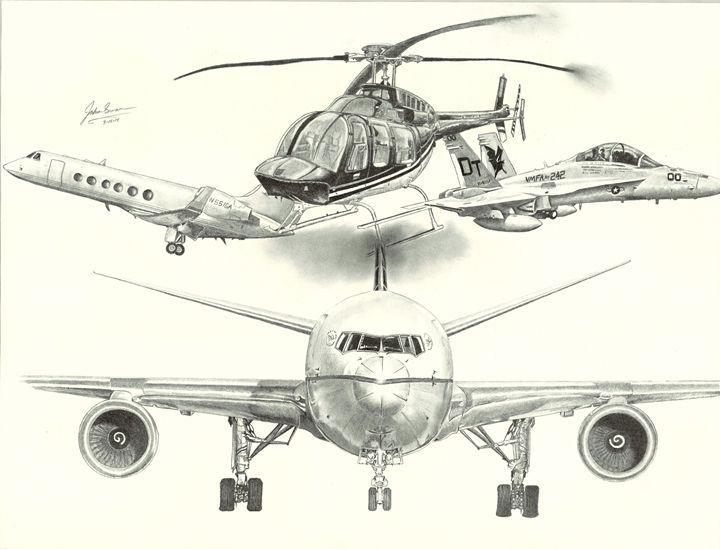 Aircraft - JswannArt