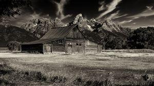 T A Moulton Barn and Tetons