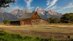 T. A. Moulton Barn and Grand Teton