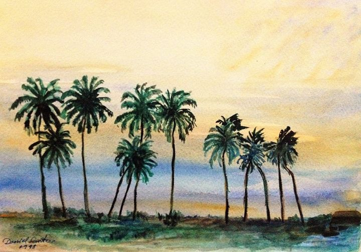 Lonely Palm Trees - Daniel Santos