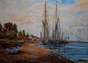 Seaside Village - My Art