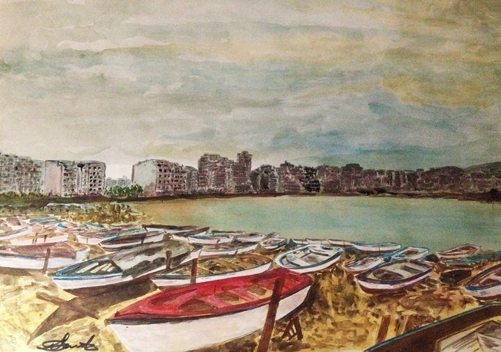 Waiting on Shore - Daniel Santos