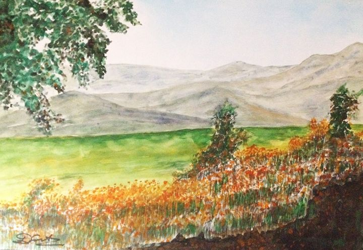 Fading Mountains - Daniel Santos