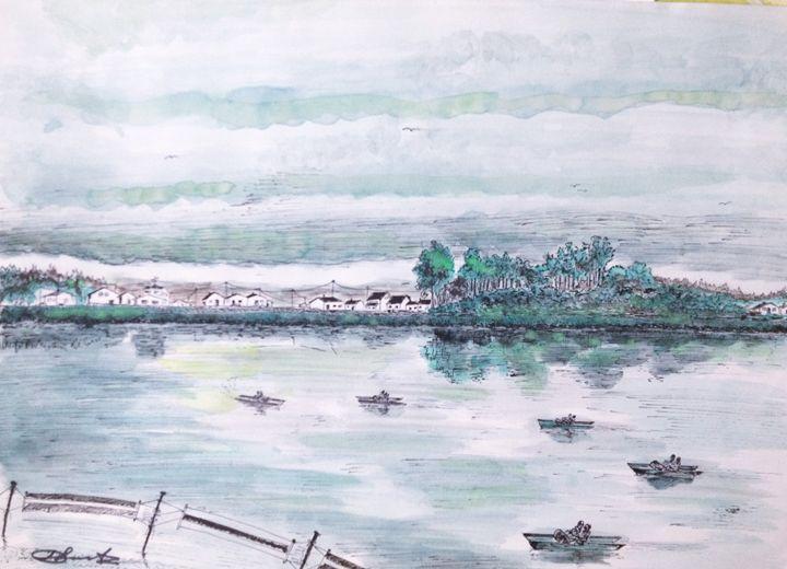 River Boats - Daniel Santos