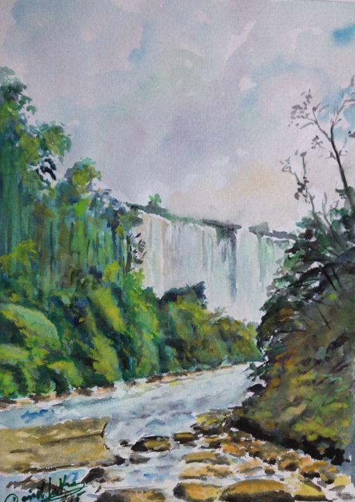 Waterfall - Daniel Santos