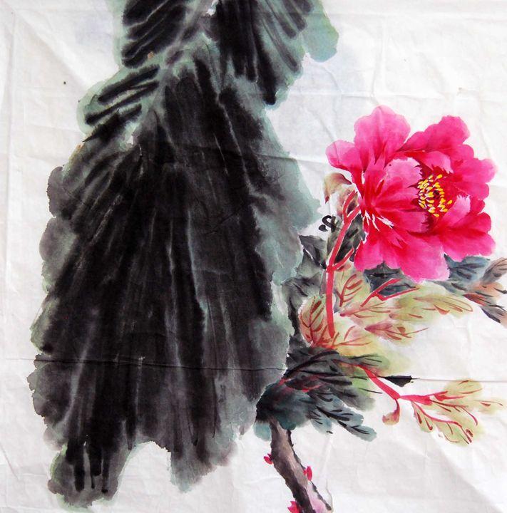 peony - Suhui  Chinese paiting