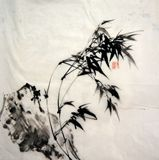 69cm*69.5cm chinese ink painting